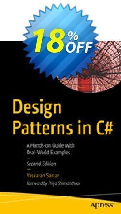 Design Patterns in C# - Sarcar  Coupon, discount Design Patterns in C# (Sarcar) Deal. Promotion: Design Patterns in C# (Sarcar) Exclusive Easter Sale offer for iVoicesoft