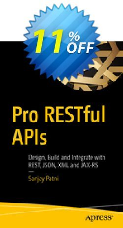Pro RESTful APIs - Patni  Coupon, discount Pro RESTful APIs (Patni) Deal. Promotion: Pro RESTful APIs (Patni) Exclusive Easter Sale offer for iVoicesoft