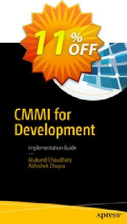 CMMI for Development - Chaudhary  Coupon, discount CMMI for Development (Chaudhary) Deal. Promotion: CMMI for Development (Chaudhary) Exclusive Easter Sale offer for iVoicesoft