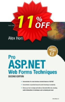 Pro ASP.NET Web Forms Techniques - Homer  Coupon, discount Pro ASP.NET Web Forms Techniques (Homer) Deal. Promotion: Pro ASP.NET Web Forms Techniques (Homer) Exclusive Easter Sale offer for iVoicesoft