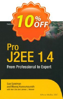 Pro J2EE 1.4: From Professional to Expert - Spielman  Coupon, discount Pro J2EE 1.4: From Professional to Expert (Spielman) Deal. Promotion: Pro J2EE 1.4: From Professional to Expert (Spielman) Exclusive Easter Sale offer for iVoicesoft