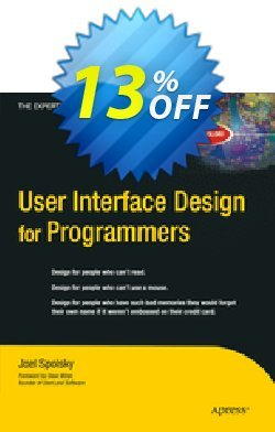 User Interface Design for Programmers - Spolsky  Coupon, discount User Interface Design for Programmers (Spolsky) Deal. Promotion: User Interface Design for Programmers (Spolsky) Exclusive Easter Sale offer for iVoicesoft