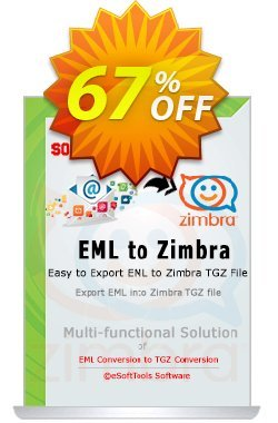 eSoftTools EML to Zimbra Converter - Technician License Coupon, discount Coupon code eSoftTools EML to Zimbra Converter - Technician License. Promotion: eSoftTools EML to Zimbra Converter - Technician License offer from eSoftTools Software
