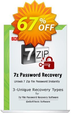 eSoftTools 7z Password Recovery - Technician License Coupon, discount Coupon code eSoftTools 7z Password Recovery - Technician License. Promotion: eSoftTools 7z Password Recovery - Technician License offer from eSoftTools Software