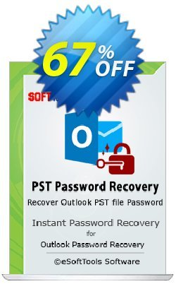 eSoftTools PST Password Recovery - Technician License Coupon, discount Coupon code eSoftTools PST Password Recovery - Technician License. Promotion: eSoftTools PST Password Recovery - Technician License offer from eSoftTools Software