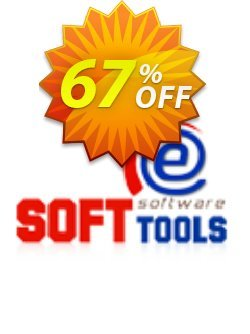 eSoftTools 2 Product - OST Recovery + PST Recovery - Corporate License Coupon, discount Coupon code eSoftTools 2 Product (OST Recovery + PST Recovery) - Corporate License. Promotion: eSoftTools 2 Product (OST Recovery + PST Recovery) - Corporate License offer from eSoftTools Software