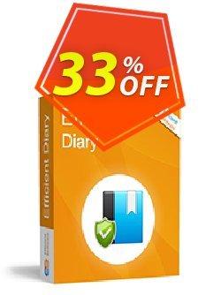 Efficient Diary Pro Coupon, discount Efficient Diary Pro Impressive deals code 2021. Promotion: Impressive deals code of Efficient Diary Pro 2021