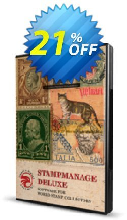 StampManage Deluxe Coupon, discount StampManage Deluxe (Download) Stirring promo code 2020. Promotion: Stirring promo code of StampManage Deluxe (Download) 2020