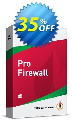 ZoneAlarm Pro Firewall - 10 PCs License  Coupon discount 35% OFF ZoneAlarm Pro Firewall (10 PCs License), verified - Amazing offer code of ZoneAlarm Pro Firewall (10 PCs License), tested & approved