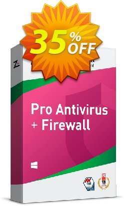 ZoneAlarm Pro Antivirus + Firewall - 10 PCs License  Coupon discount 35% OFF ZoneAlarm Pro Antivirus + Firewall (10 PCs License), verified - Amazing offer code of ZoneAlarm Pro Antivirus + Firewall (10 PCs License), tested & approved