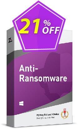 ZoneAlarm Anti-Ransomware - 10 PCs License  Coupon discount 20% OFF ZoneAlarm Anti-Ransomware (10 PCs License), verified - Amazing offer code of ZoneAlarm Anti-Ransomware (10 PCs License), tested & approved
