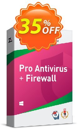 ZoneAlarm Pro Antivirus + Firewall - 3 PCs License  Coupon discount 35% OFF ZoneAlarm Pro Antivirus + Firewall (3 Devices License), verified - Amazing offer code of ZoneAlarm Pro Antivirus + Firewall (3 Devices License), tested & approved