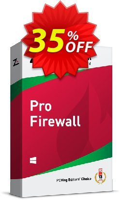 ZoneAlarm Pro Firewall - 50 PCs License  Coupon discount 35% OFF ZoneAlarm Pro Firewall (50 PCs License), verified - Amazing offer code of ZoneAlarm Pro Firewall (50 PCs License), tested & approved