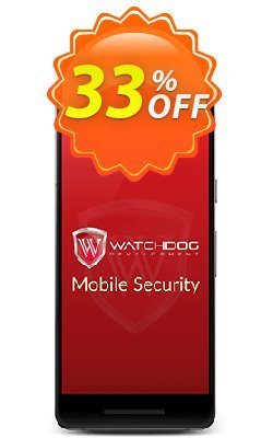 Watchdog Mobile Security Coupon discount 30% OFF Watchdog Mobile Security, verified - Awesome offer code of Watchdog Mobile Security, tested & approved
