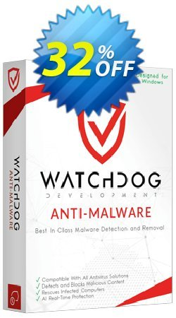 Watchdog Anti-Malware Coupon discount Watchdog Anti-Malware Hottest discount code 2021 - Hottest discount code of Watchdog Anti-Malware 2021