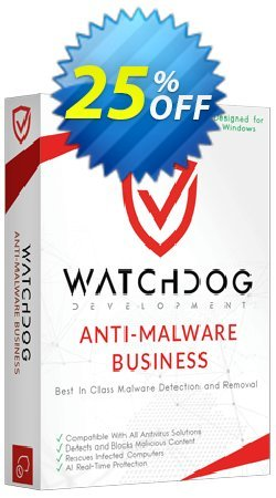 Watchdog Anti-Malware Business Coupon discount Watchdog Anti-Malware Business Fearsome promotions code 2021 - Fearsome promotions code of Watchdog Anti-Malware Business 2021