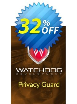 Watchdog Privacy Guard Coupon discount Watchdog Privacy Guard Stunning promo code 2020. Promotion: Stunning promo code of Watchdog Privacy Guard 2020