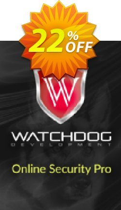 Watchdog Online Security Pro Coupon discount Watchdog Online Security Pro Wondrous deals code 2021. Promotion: Wondrous deals code of Watchdog Online Security Pro 2021