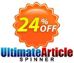 Ultimate Article Spinner Coupon, discount Ultimate Article Spinner Best sales code 2021. Promotion: Best sales code of Ultimate Article Spinner 2021