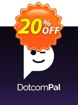 DotcomPal Pro Plan Coupon, discount DotcomPal Pro Plan Staggering promotions code 2020. Promotion: Staggering promotions code of DotcomPal Pro Plan 2020