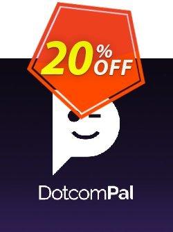 DotcomPal Pro Plan Coupon discount DotcomPal Pro Plan Staggering promotions code 2020 - Staggering promotions code of DotcomPal Pro Plan 2020