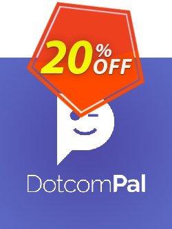 DotcomPal Grow Plan Coupon, discount DotcomPal Grow Plan Stunning discounts code 2021. Promotion: Stunning discounts code of DotcomPal Grow Plan 2021