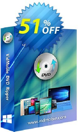 VidMobie DVD Ripper - 1 Year Subscription  Coupon discount Coupon code VidMobie DVD Ripper (1 Year Subscription) - VidMobie DVD Ripper (1 Year Subscription) offer from VidMobie Software