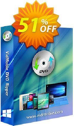 VidMobie DVD Ripper - Lifetime License  Coupon discount Coupon code VidMobie DVD Ripper (Lifetime License) - VidMobie DVD Ripper (Lifetime License) offer from VidMobie Software
