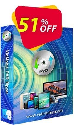 VidMobie DVD Ripper for Mac - Lifetime License  Coupon discount Coupon code VidMobie DVD Ripper for Mac (Lifetime License) - VidMobie DVD Ripper for Mac (Lifetime License) offer from VidMobie Software