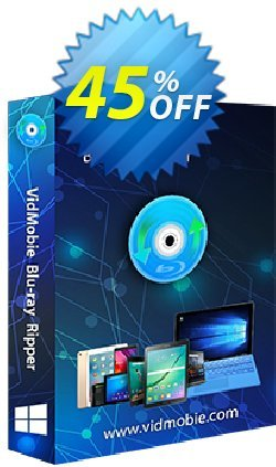 VidMobie Blu-ray Ripper - 1 Year Subscription  Coupon discount Coupon code VidMobie Blu-ray Ripper (1 Year Subscription) - VidMobie Blu-ray Ripper (1 Year Subscription) offer from VidMobie Software