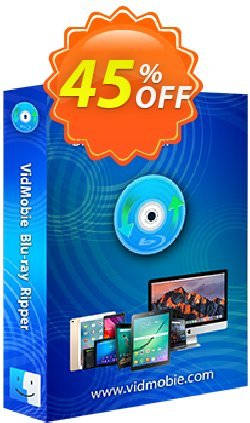 VidMobie Blu-ray Ripper for Mac - 1 Year Subscription  Coupon discount Coupon code VidMobie Blu-ray Ripper for Mac (1 Year Subscription) - VidMobie Blu-ray Ripper for Mac (1 Year Subscription) offer from VidMobie Software
