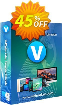 VidMobie Video Converter Ultimate for Mac - Lifetime License  Coupon discount Coupon code VidMobie Video Converter Ultimate for Mac (Lifetime License) - VidMobie Video Converter Ultimate for Mac (Lifetime License) offer from VidMobie Software