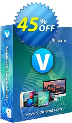 VidMobie Video Converter Ultimate for Mac - 1 Year Subscription  Coupon discount Coupon code VidMobie Video Converter Ultimate for Mac (1 Year Subscription) - VidMobie Video Converter Ultimate for Mac (1 Year Subscription) offer from VidMobie Software