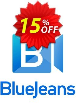 BlueJeans Meetings STANDARD Coupon, discount 15% OFF BlueJeans Meetings STANDARD, verified. Promotion: Best discounts code of BlueJeans Meetings STANDARD, tested & approved