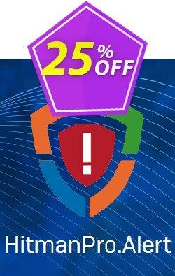 HitmanPro.Alert Coupon discount 20% OFF HitmanPro.Alert, verified. Promotion: Big promotions code of HitmanPro.Alert, tested & approved