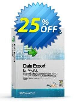 EMS Data Export for MySQL - Business + 1 Year Maintenance Coupon discount Coupon code EMS Data Export for MySQL (Business) + 1 Year Maintenance - EMS Data Export for MySQL (Business) + 1 Year Maintenance Exclusive offer for iVoicesoft