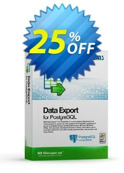 EMS Data Export for PostgreSQL - Business + 1 Year Maintenance Coupon discount Coupon code EMS Data Export for PostgreSQL (Business) + 1 Year Maintenance - EMS Data Export for PostgreSQL (Business) + 1 Year Maintenance Exclusive offer for iVoicesoft