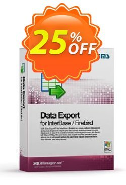 EMS Data Export for InterBase/Firebird - Business + 1 Year Maintenance Coupon discount Coupon code EMS Data Export for InterBase/Firebird (Business) + 1 Year Maintenance - EMS Data Export for InterBase/Firebird (Business) + 1 Year Maintenance Exclusive offer for iVoicesoft