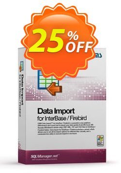 EMS Data Import for InterBase/Firebird - Business + 1 Year Maintenance Coupon, discount Coupon code EMS Data Import for InterBase/Firebird (Business) + 1 Year Maintenance. Promotion: EMS Data Import for InterBase/Firebird (Business) + 1 Year Maintenance Exclusive offer for iVoicesoft