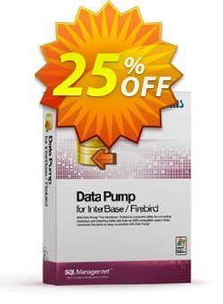 EMS Data Pump for InterBase/Firebird - Business + 1 Year Maintenance Coupon, discount Coupon code EMS Data Pump for InterBase/Firebird (Business) + 1 Year Maintenance. Promotion: EMS Data Pump for InterBase/Firebird (Business) + 1 Year Maintenance Exclusive offer for iVoicesoft