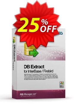 EMS DB Extract for InterBase/Firebird - Business + 1 Year Maintenance Coupon discount Coupon code EMS DB Extract for InterBase/Firebird (Business) + 1 Year Maintenance - EMS DB Extract for InterBase/Firebird (Business) + 1 Year Maintenance Exclusive offer for iVoicesoft