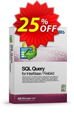 EMS SQL Query for InterBase/Firebird - Business + 3 Year Maintenance Coupon discount Coupon code EMS SQL Query for InterBase/Firebird (Business) + 3 Year Maintenance - EMS SQL Query for InterBase/Firebird (Business) + 3 Year Maintenance Exclusive offer for iVoicesoft