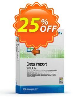 EMS Data Import for DB2 - Business + 1 Year Maintenance Coupon, discount Coupon code EMS Data Import for DB2 (Business) + 1 Year Maintenance. Promotion: EMS Data Import for DB2 (Business) + 1 Year Maintenance Exclusive offer for iVoicesoft