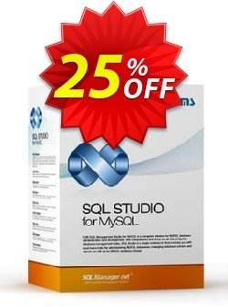 EMS SQL Management Studio for MySQL - Business + 1 Year Maintenance Coupon, discount Coupon code EMS SQL Management Studio for MySQL (Business) + 1 Year Maintenance. Promotion: EMS SQL Management Studio for MySQL (Business) + 1 Year Maintenance Exclusive offer for iVoicesoft