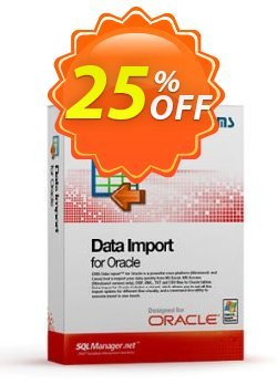 EMS Data Import for Oracle - Business + 1 Year Maintenance Coupon, discount Coupon code EMS Data Import for Oracle (Business) + 1 Year Maintenance. Promotion: EMS Data Import for Oracle (Business) + 1 Year Maintenance Exclusive offer for iVoicesoft