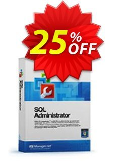 EMS SQL Administrator for SQL Server - Business + 1 Year Maintenance Coupon, discount Coupon code EMS SQL Administrator for SQL Server (Business) + 1 Year Maintenance. Promotion: EMS SQL Administrator for SQL Server (Business) + 1 Year Maintenance Exclusive offer for iVoicesoft