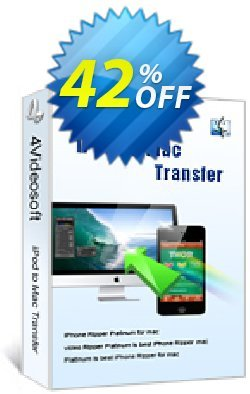 4Videosoft iPod to Mac Transfer Coupon, discount 4Videosoft iPod to Mac Transfer fearsome discounts code 2019. Promotion: fearsome discounts code of 4Videosoft iPod to Mac Transfer 2019