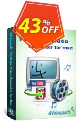 4Videosoft YouTube Video Converter for Mac Coupon, discount 4Videosoft YouTube Video Converter for Mac big promo code 2020. Promotion: big promo code of 4Videosoft YouTube Video Converter for Mac 2020