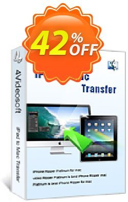 4Videosoft iPad to Mac Transfer Coupon, discount 4Videosoft iPad to Mac Transfer formidable deals code 2019. Promotion: formidable deals code of 4Videosoft iPad to Mac Transfer 2019