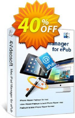 4Videosoft Mac iPad Manager for ePub Coupon, discount 4Videosoft Mac iPad Manager for ePub fearsome discounts code 2019. Promotion: fearsome discounts code of 4Videosoft Mac iPad Manager for ePub 2019